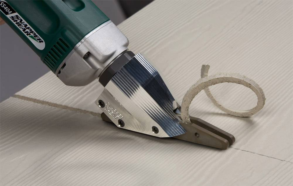 Makes Straight PacTool SS724 Snapper Shear Pro Fiber Cement Cutting Shear Fivе Расk Curved and Circle Cuts Right Angle